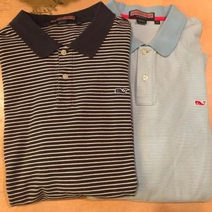 Lot of 2 Vineyard Vines XXL shirts (READ)